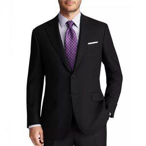 CANALI | Black Slim Fit 3-Button Blazer 38